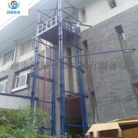 井道式升降机 室内外升降载货电梯 导轨式升降货梯