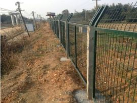 铁路线路防护栅栏-铁路防护栅栏厂家