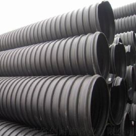 湖南永州HDPE钢带管增强螺旋管得到广大用户认可