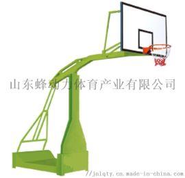 山東蜂動力體育器材廠家供應凹箱式寬臂籃球架