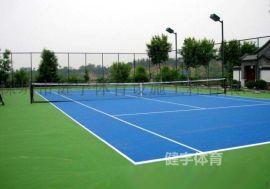 深圳网球场施工_网球场建设工程_**式球场地面施工