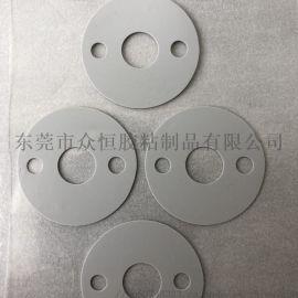 LED灰色导热硅胶垫片 耐高温绝缘导热硅胶片