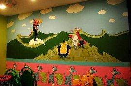 北京地区定做幼儿园壁画设计施工