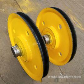 5吨定滑轮组 铸钢轧制滑轮片滑轮组 微型滑轮组