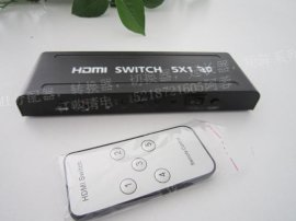 V1.4 HDMI switcher 5*1 切换器