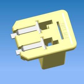 LED球泡灯连接器  通板反贴  贴片接线端子 2213188-1    L002