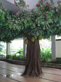 仿真菠萝蜜树价格, 仿真榕树制作, 仿真蒲葵厂家