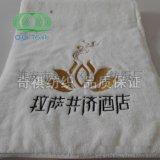 奇祺纯棉 刺绣毛巾 可刺绣LOGO  酒店宾馆毛巾