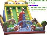 充气城堡 广场人气旺的游乐设备宏德游乐供应