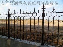 揭阳黑色喷漆铁艺护栏网_住宅护栏网