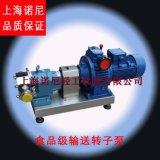 上海諾尼TR系列衛生級轉子泵  手動無極調速轉子泵