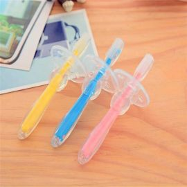 **乳牙刷**婴幼儿0-1-2-3岁儿童柔软训练练习软毛手指套牙刷