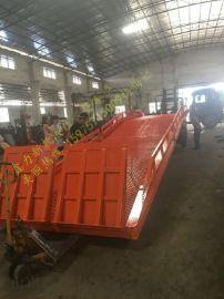 佛山鑫力分体式液压登车桥载重10-20吨节约空