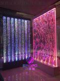 成品定制水晶LED气泡泡水景屏风,水舞气泡墙