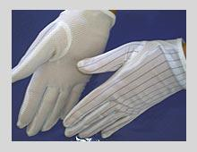 防静电点塑防滑手套