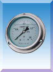 耐震全不锈钢压力表(YN-60B/100B/150B)