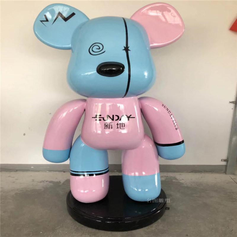 桂林吉祥物形象玻璃钢卡通人物雕塑定制报价