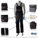 廠家直供全棉阻燃揹帶褲特種工作褲 實用耐磨工作服