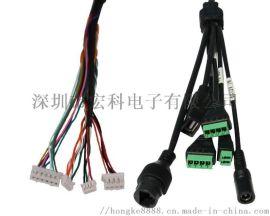 安防摄像机线 安防监控线 网口线 RJ45防