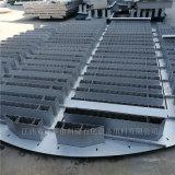 304金屬槽盤分佈器可拆型槽盤氣液分佈器的作用