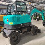 厂家直销轮式挖掘机抓木机 轮式挖掘机
