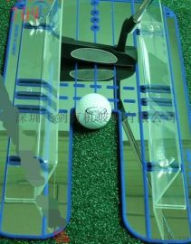 高尔夫推杆练习镜 动作姿势纠正器 练习辅助器
