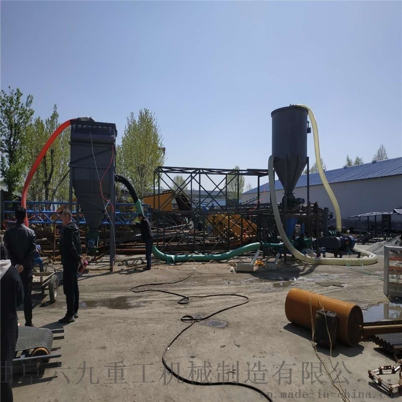 粉煤灰气力抽灰机价格 粉煤灰上料吸灰机 六九重工
