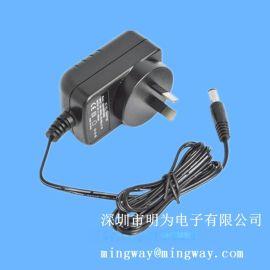 欧规插墙式12W电源 12V电源适配器