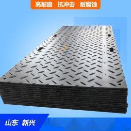 聚乙烯双面防滑铺路板使用案例