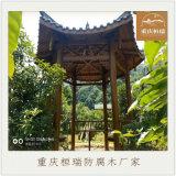重庆古建防腐实木长廊亭子施工建造公司
