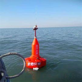 海上红色 示浮标 渔业作业 示标