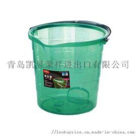 家用加厚塑料手提小水桶学生宿舍洗衣桶洗澡桶大号圆形