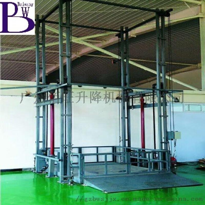 液壓貨梯廠家可定製佰旺牌肇慶液壓升降貨梯升降機
