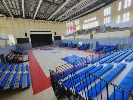 桂林学院体育场伸缩看台座椅厂家定制