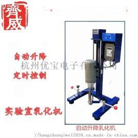 齐威电动工业乳化机油墨涂料定时均质分散机搅拌机