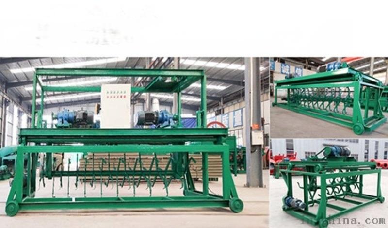 雞糞堆肥有機肥翻堆機,槽式液壓翻堆機廠家現貨直銷 型號可選擇