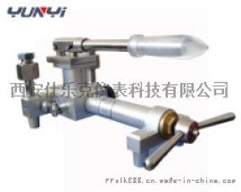 杭州市便携式气体压力校验仪/ 淄博压力表校验仪