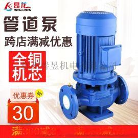 GW立式污水泵 便携安装管道式排污泵 污水处理厂排污管道泵