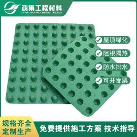 惠州2公分屋顶绿化塑料排水板供应