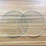 普通透明玻璃片超薄光學玻璃方/圓形玻璃 可打孔開槽