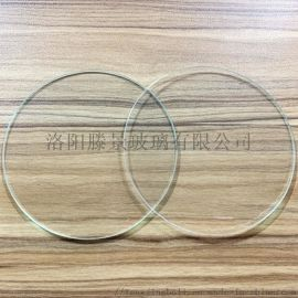 普通透明玻璃片**光学玻璃方/圆形玻璃 可打孔开槽