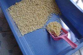 制作猫砂的机器用什么 环模猫砂颗粒机 豆渣制粒机
