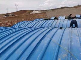 枣强永盛定制玻璃钢集气罩盖板 污水池环保盖板