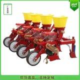 拖拉机悬挂的玉米播种机