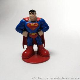 漫威美国队长超人pvc定制玩具公仔