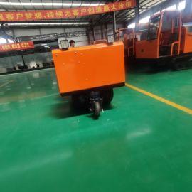 液压自卸式手扶履带运输车 小型农用履带运输车