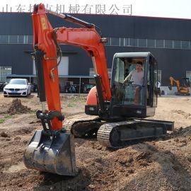 微型农用挖沟机 建筑工程小型挖掘机 捷克现货包邮