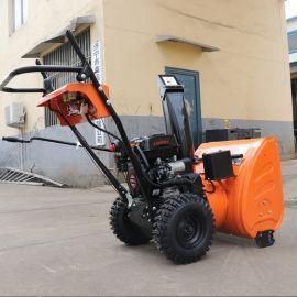 手推式摩擦轮传动清雪机 捷克机械 道路1米清雪机