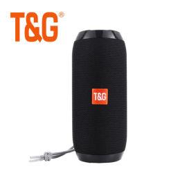 经典布艺蓝牙手提式无线音箱TG117便携低音炮