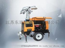 DOD6104 液压升降移动照明车 4*1000W